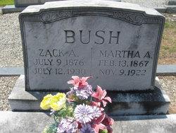 Martha A <i>Dunlap</i> Bush