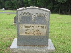 Arthur W Haynes