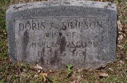 Doris A <i>Simpson</i> Osgood
