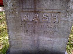 Albion D Nash