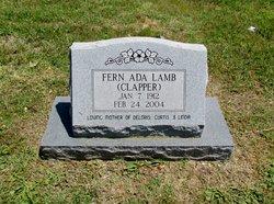 Fern Ada <i>Clapper</i> Lamb