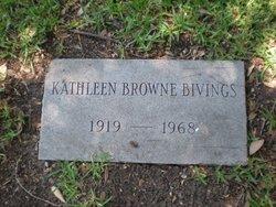 Kathleen <i>Browne</i> Bivings