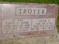 Emma Catherine <i>Zook</i> Troyer