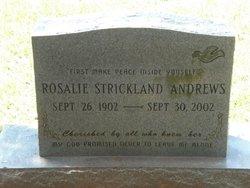 Rosalie <i>Strickland</i> Andrews