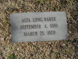 Alta <i>Long</i> Baker