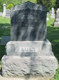 Mattie Helen <i>Jones</i> Ault
