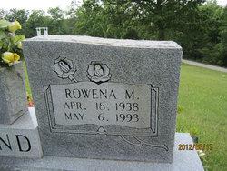 Rowena M. Bond