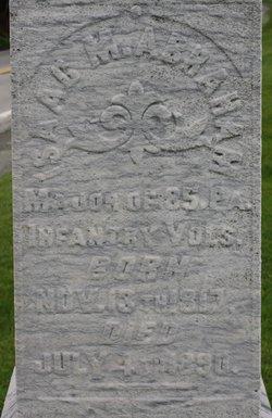 Maj Isaac M Abraham