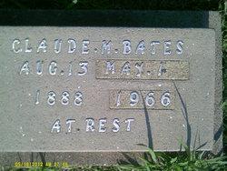 Claude M Bates