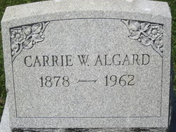 Carrie W Algard