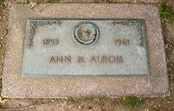 Ann M Albom