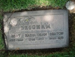 Bert Elmer Brigham