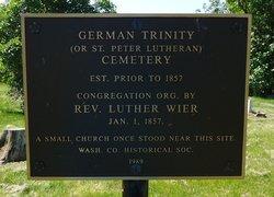 German Trinity Cemetery