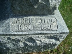 Caroline E. Carrie <i>Titus</i> Emmans