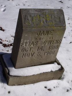 Jane <i>Jackson</i> Owens
