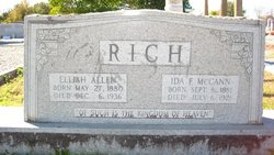 Ida Frances <i>McCann</i> Rich