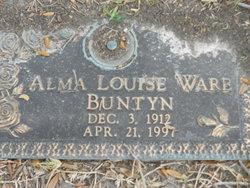 Alma Louise <i>Ware</i> Buntyn