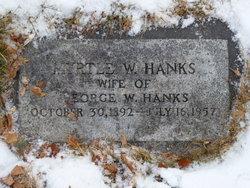 Myrtle <i>Worthen</i> Hanks