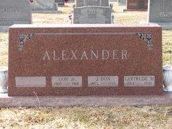 Don Alexander, Jr