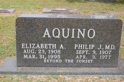 Elizabeth A. <i>Atkins</i> Aquino