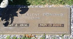 Sarah Erlene <i>Donoho</i> Cook