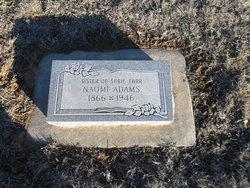 Naomi <i>Slaton</i> Adams