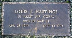 Louis L Hastings