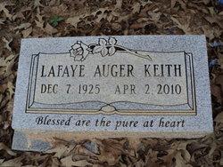 La Faye <i>Auger</i> Keith