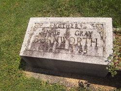 Jennie M. <i>Gray</i> Burnworth