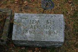 Ida May <i>Cheesman</i> Adams