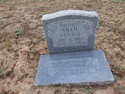 Willie <i>Bryant</i> Abbage