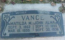 John Alma Vance