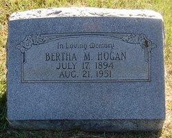Bertha M. Hogan