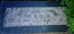 Ina B DeLoy