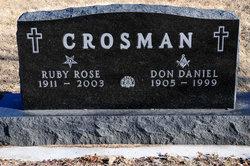 Ruby Rose <i>Novinger</i> Crosman