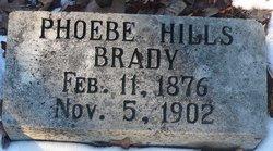 Phoebe Ellan <i>Hill</i> Brady