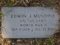 Edwin J Mundine
