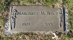 Margaret M. <i>Schuller</i> Busch