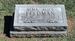 Alma Alice Feldman