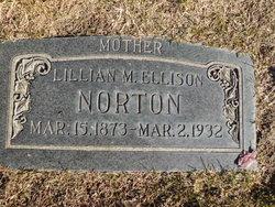 Lillian M <i>Ellison</i> Norton