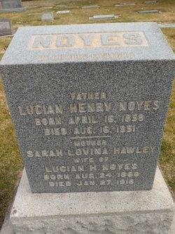 Sarah Lovina <i>Hawley</i> Noyes