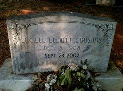 Lucille <i>Elliott</i> Cousans