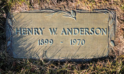 Henry W Anderson