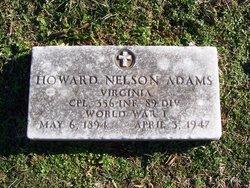 Corp Howard Nelson Adams