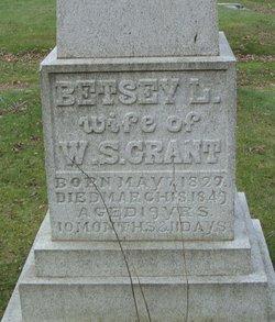 Betsey L. <i>Josselyn</i> Grant