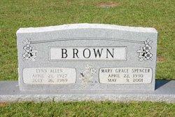 Mary Grace <i>Spencer</i> Brown
