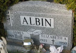 Elizabeth A Betty <i>Coughlin</i> Albin