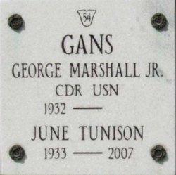 June Phyllis <i>Tunison</i> Gans