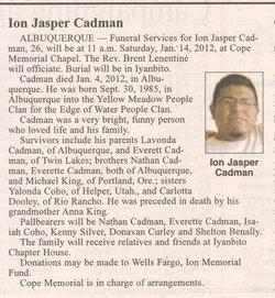 Ion Jasper Cadman