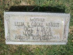Lilia Frances <i>Cocke</i> Abbott